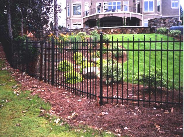 Aluminum fences old charleston fence for Charleston style fence